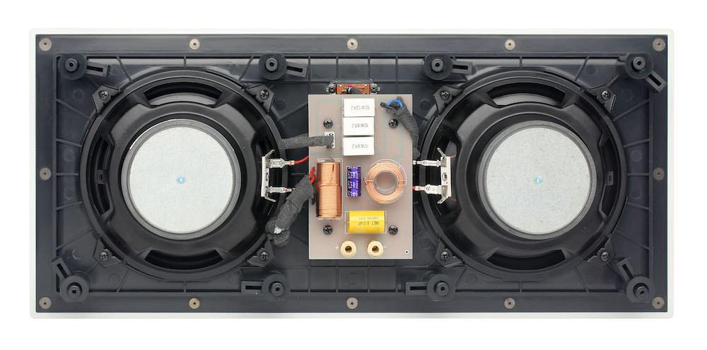 Atlantic Technology IW-110LCR In-Wall Speaker Rear View