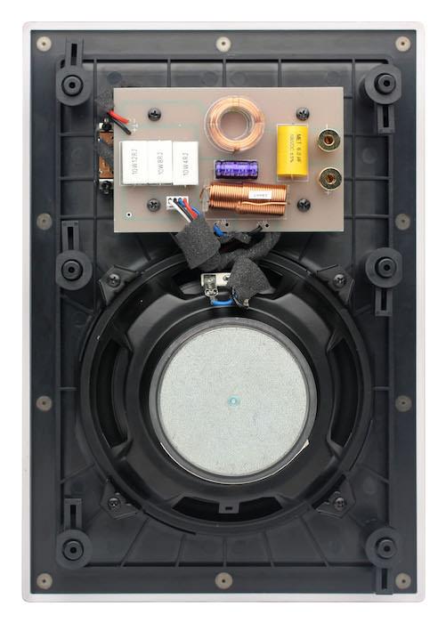 Atlantic Technology IW-105LCR In-Wall Speaker Rear View