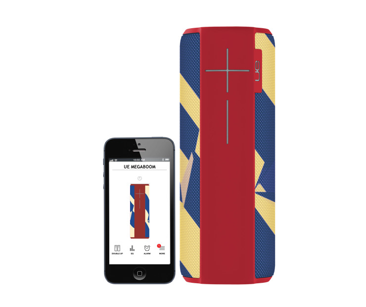 UE MEGABOOM Shockwave Edition with iPhone 5