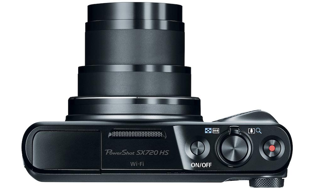 Canon PowerShot SX720 HS - Top View