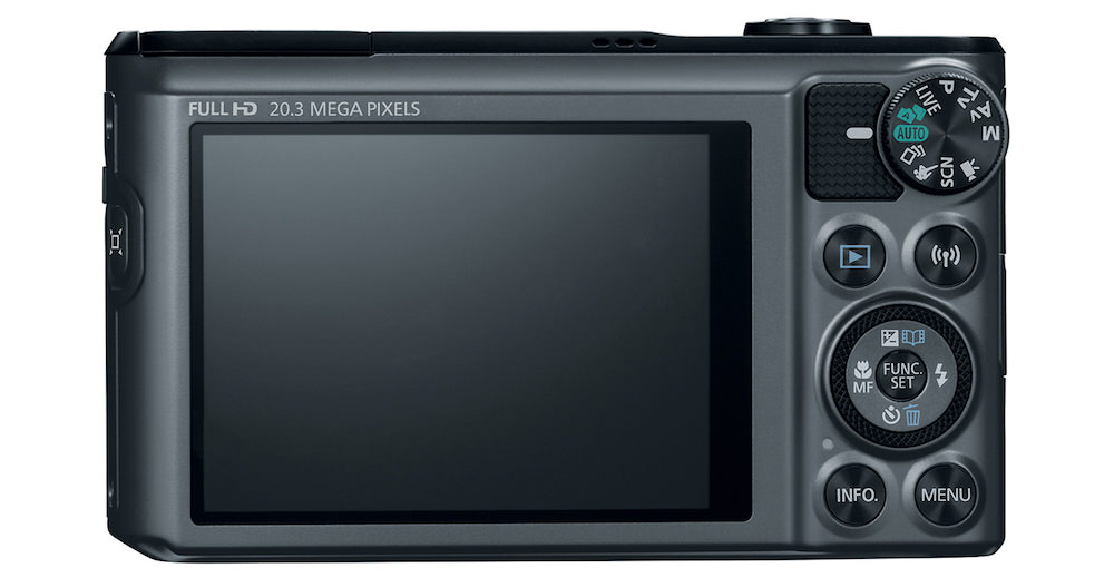 Canon PowerShot SX720 HS - Back View