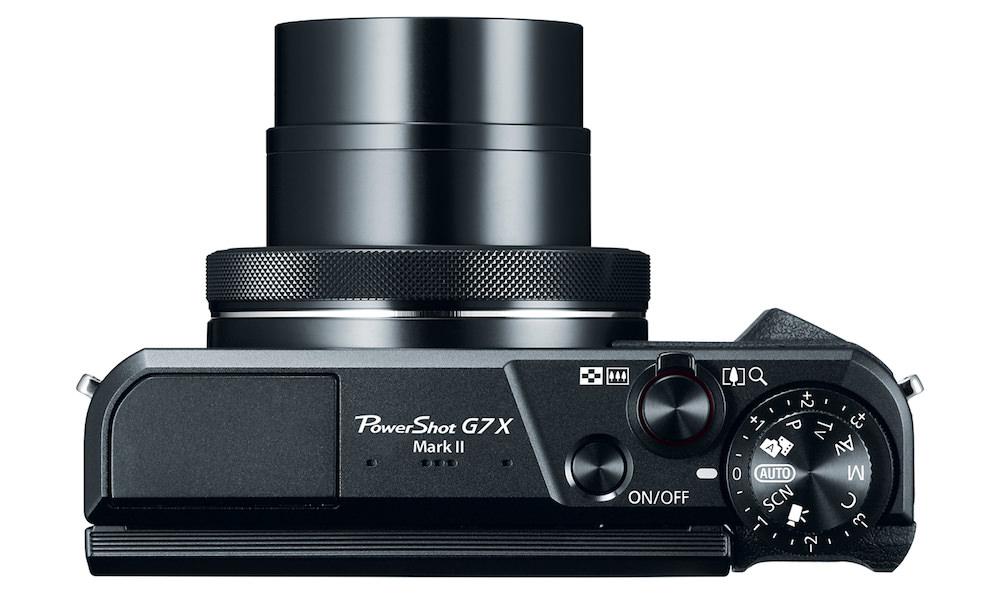 Powershot G7 X Mark II - Top View