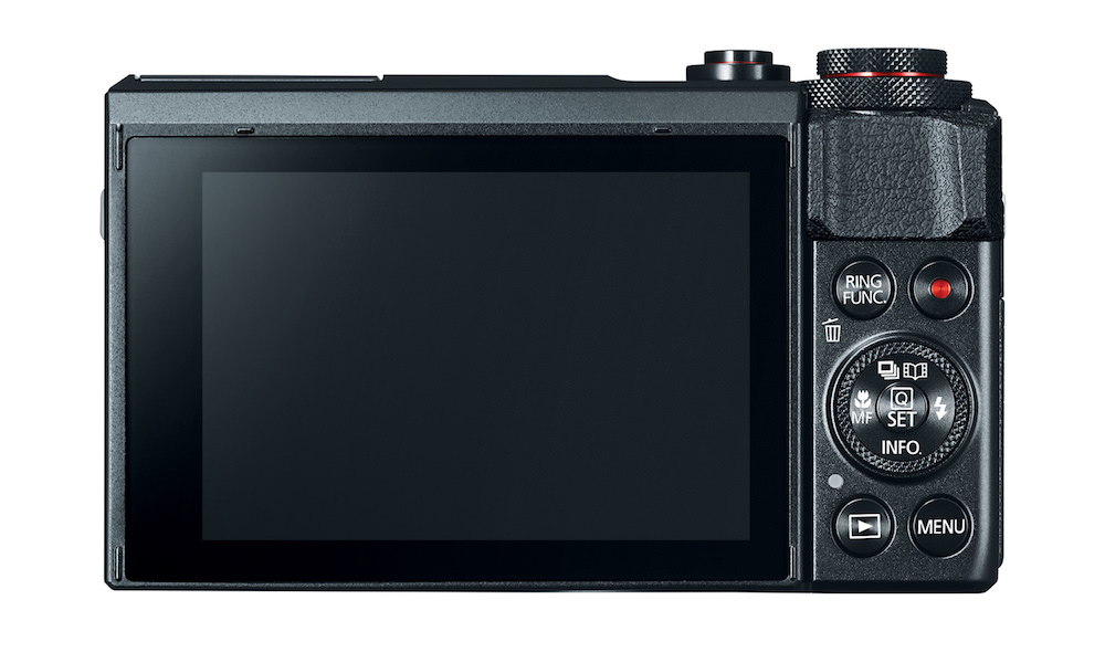 Canon Powershot G7 X Mark II - Back View
