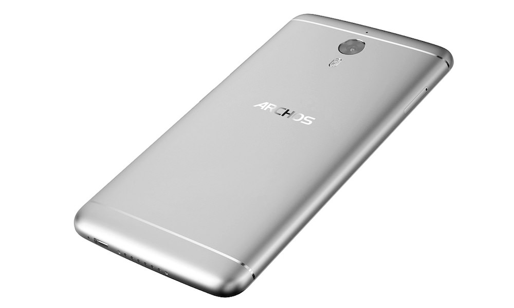 ARCHOS Diamond 2 Note - Back View