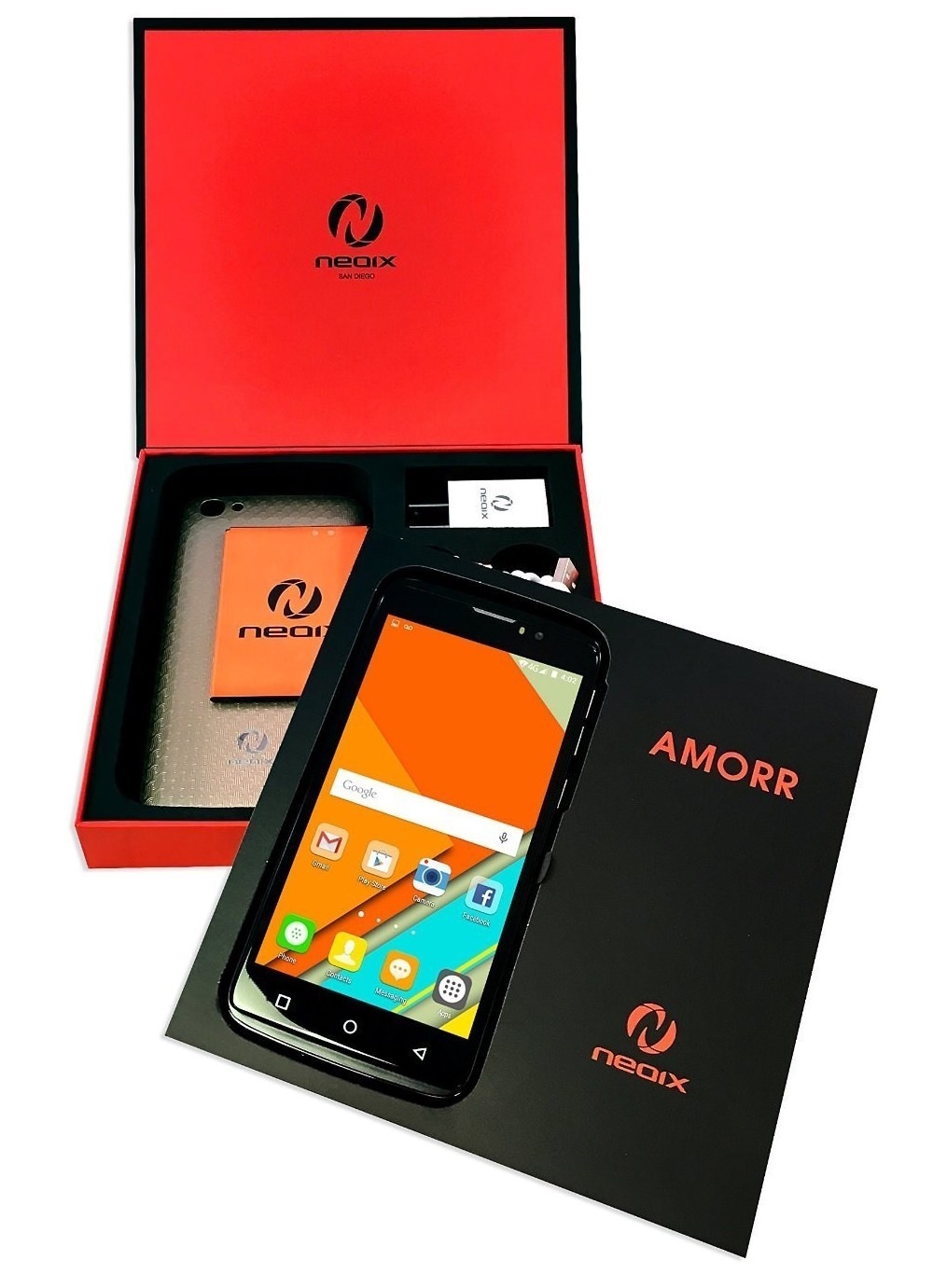 Neoix AMORR Smartphone - box