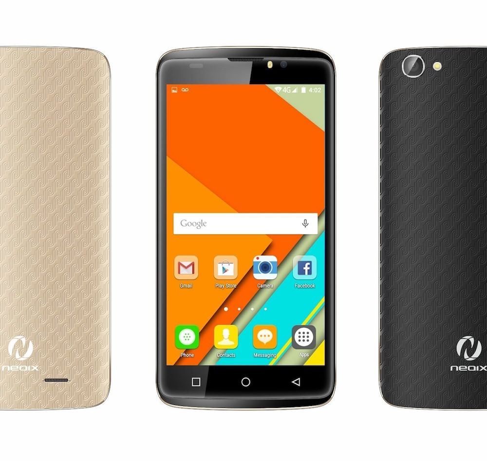 Neoix AMORR Smartphone - front and back