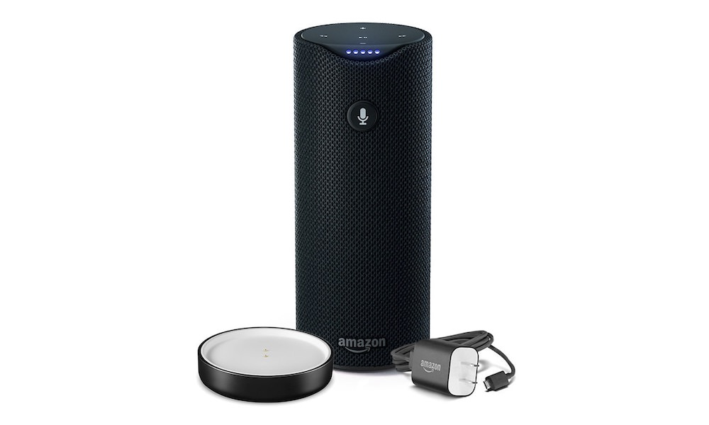 Amazon Echo Tap with charger