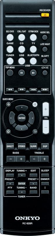 Onkyo RC-928R Remote for TX-SR353