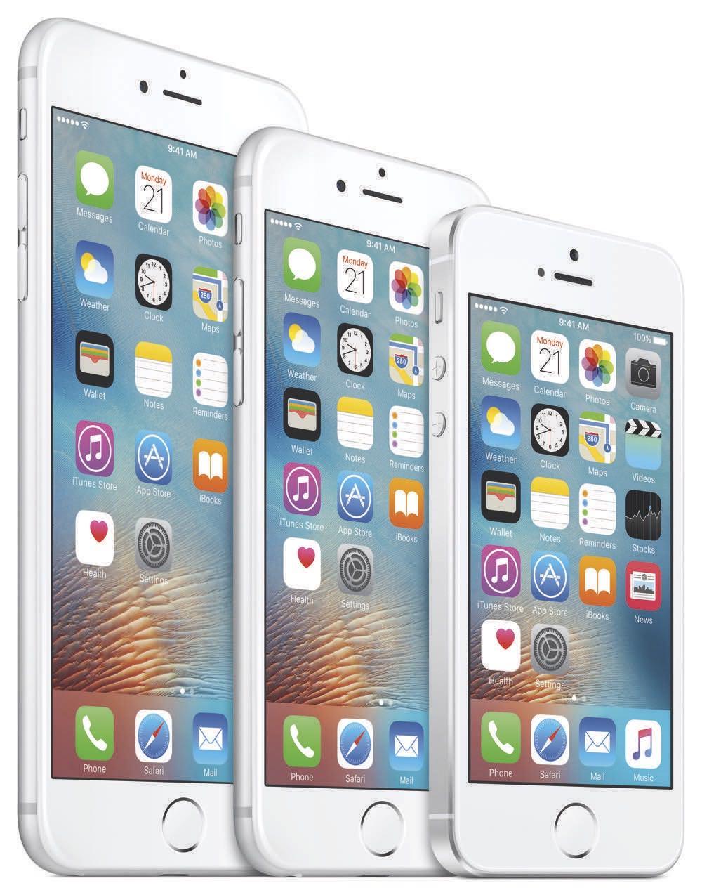 Apple iPhone Family 2016