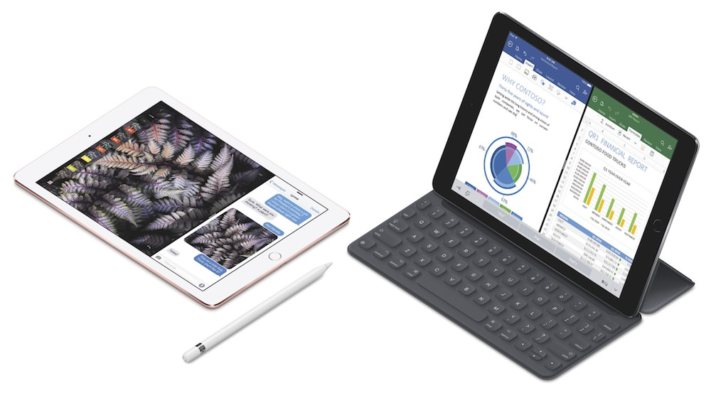 Apple 9.7-inch iPad Pro with Pencil and SmartKeyboard