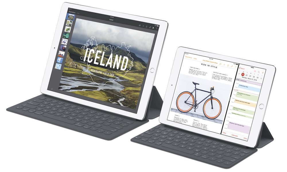 Apple iPad Pro size difference