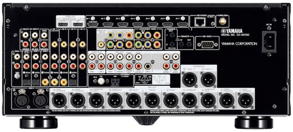 Yamaha CX-A5100 back