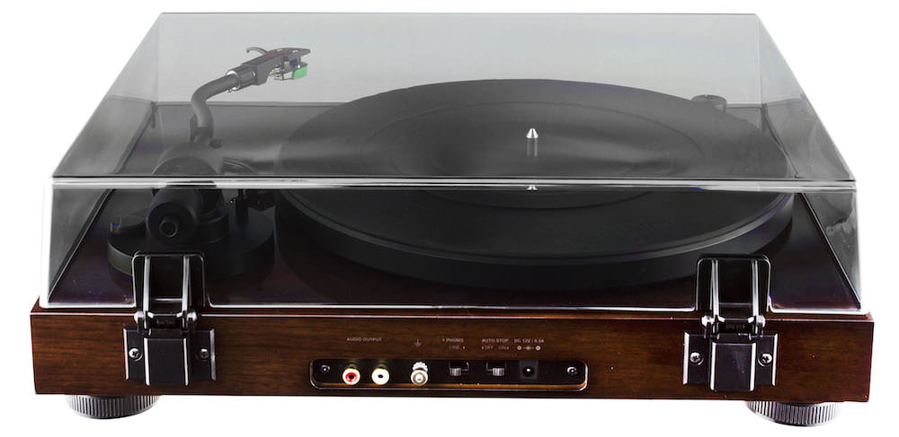 Fluance RT81 Turntable - back