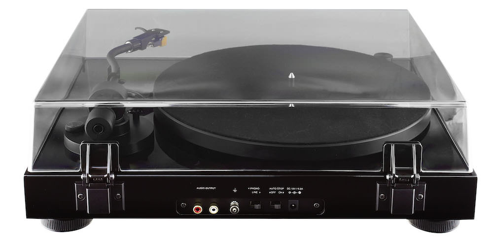 Fluance RT80 Turntable - back