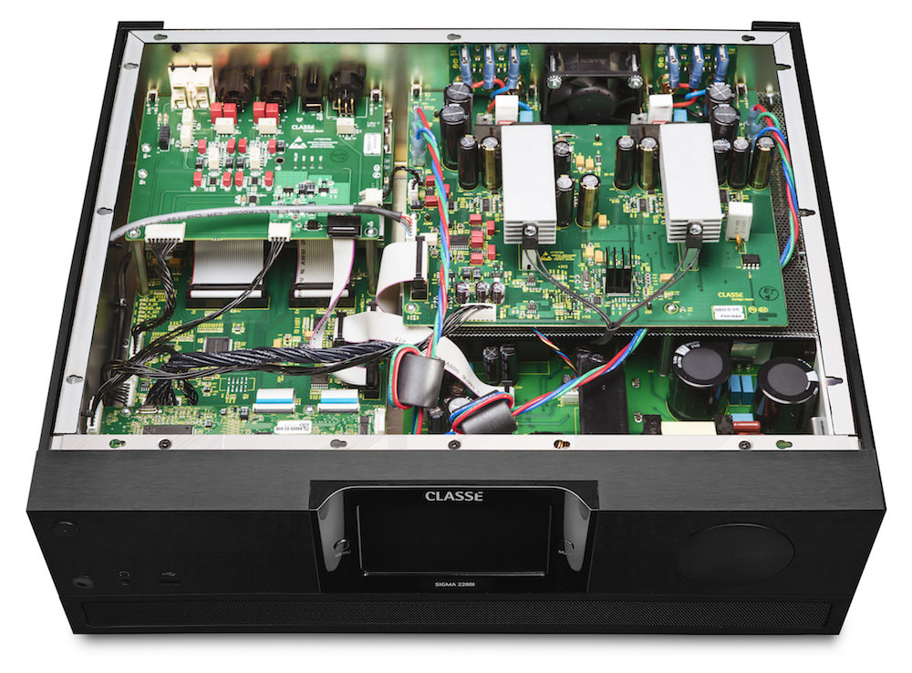 Classe Sigma 2200i Stereo Integrated Amplifier - inside