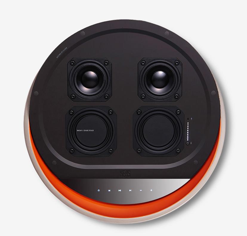 KEAS MOV1 Ceramic Bluetooth Speaker Drivers