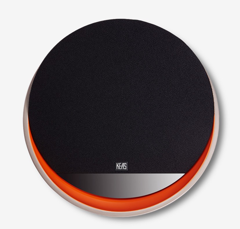 KEAS MOV1 Ceramic Bluetooth Speaker - Orange