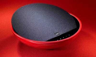 KEAS MOV1 Ceramic Bluetooth Speaker - Red