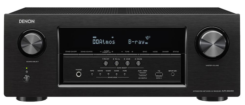 Denon AVR-S920W - front
