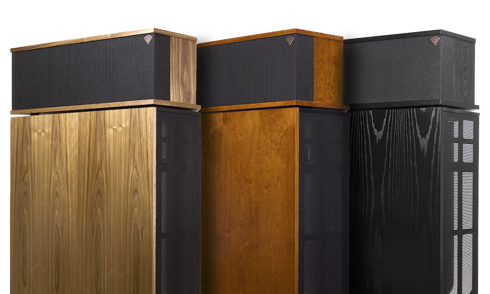 Klipsch 70th Anniversary Klipschorn Loudspeaker Finishes
