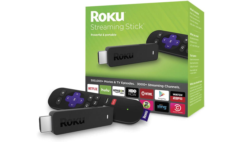 2016 Roku Streaming Stick (model 3600)