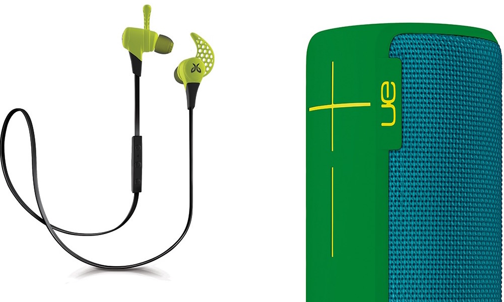 Logitech UE Boom and Jaybird Headphones