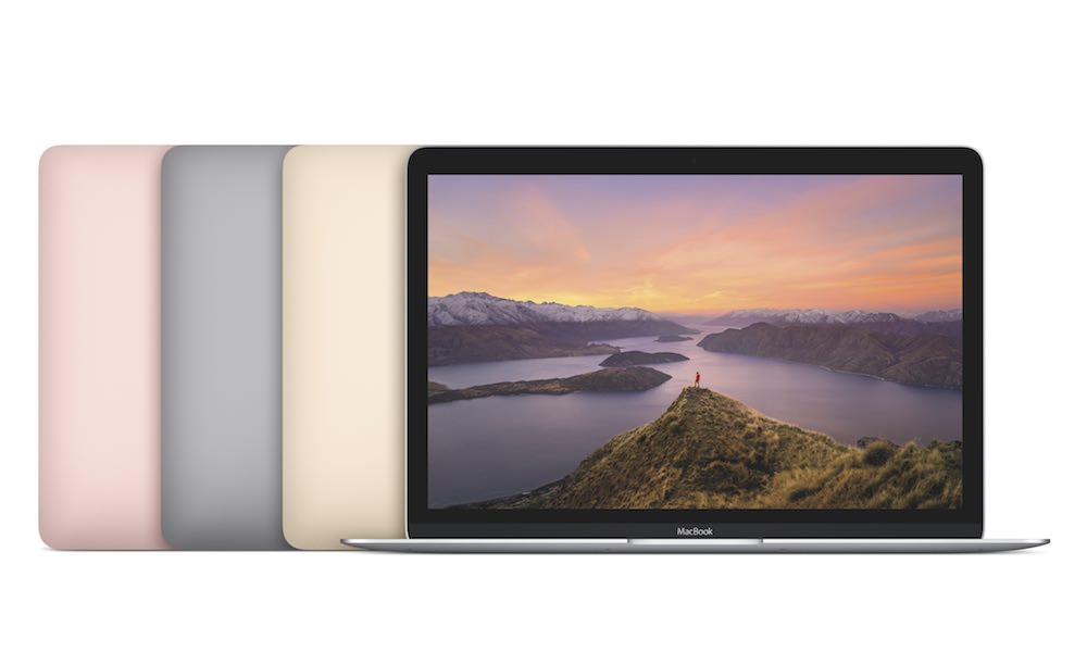 Apple 12-inch MacBook 2016 Colors