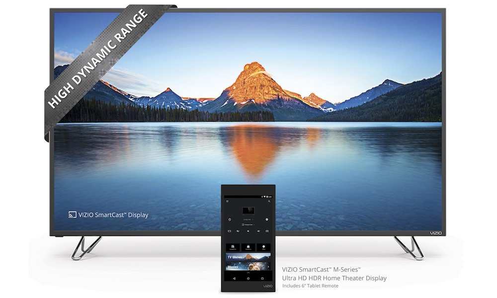 VIZIO SmartCast M-Series Ultra HD HDR Home Theater Display 2016