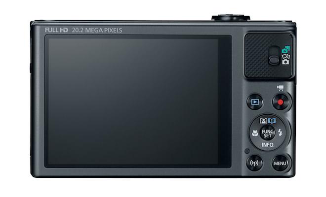 Canon PowerShot SX620 HS - back