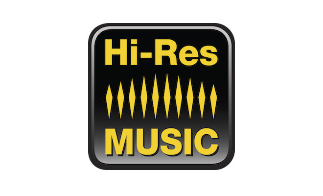 HI-Res MUSIC logo