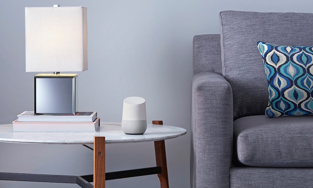 Google Home in Living Room