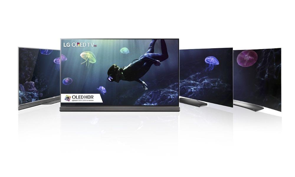 2016 LG OLED TVs