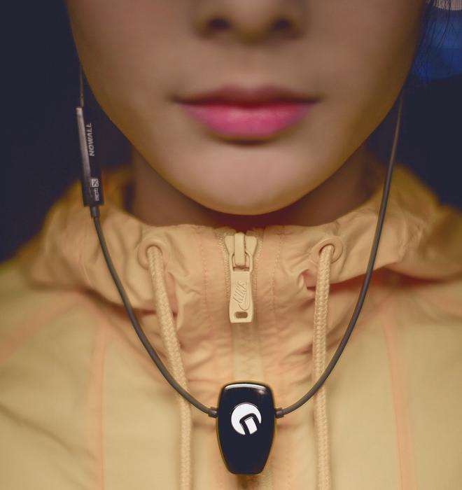 Nowall CH-1 Bluetooth Earphones Pendant