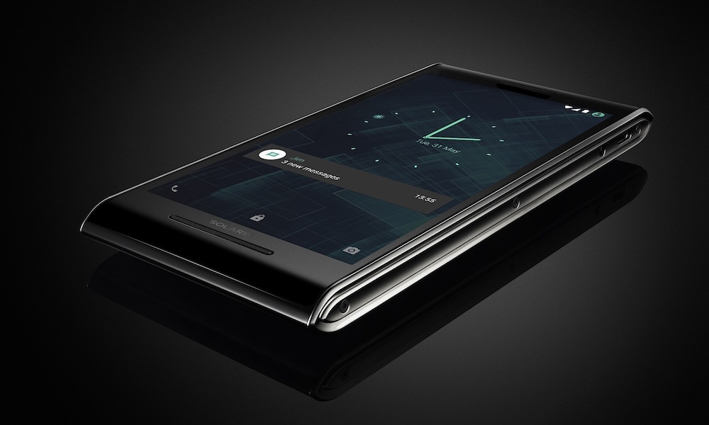 SOLARIN Smartphone UI and Notification