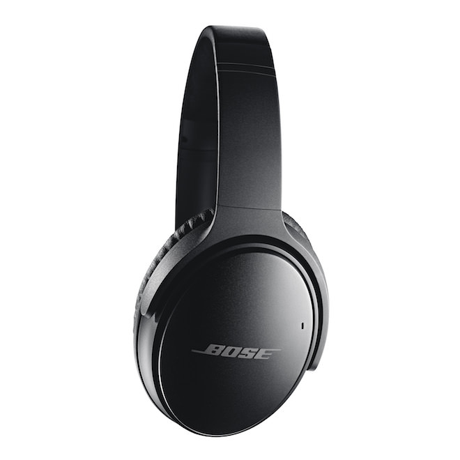 Bose QuietComfort 35 Wireless Headphones Black Side