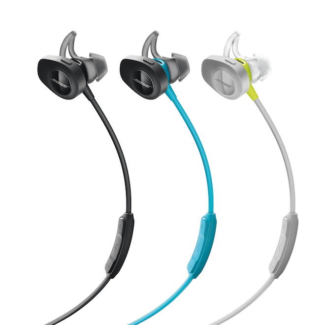 Bose SoundSport Wireless Headphones Colors