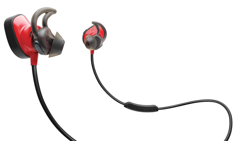 Bose SoundSport Pulse Wireless Headphones Red