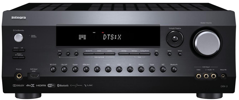 Integra DRX-3 A/V Receiver Front