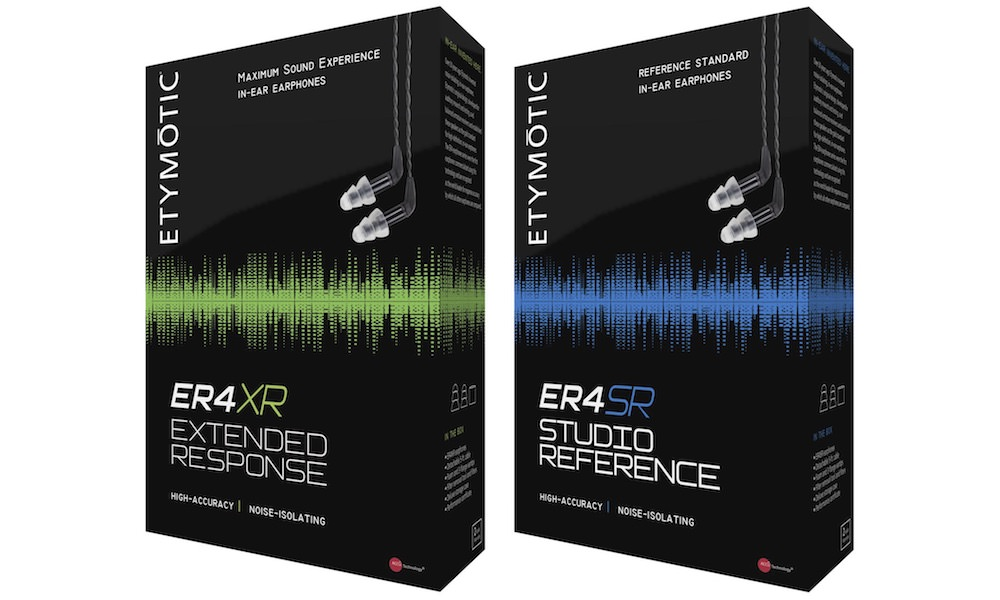 Etymotic Research ER4XR and ER4SR Earphones