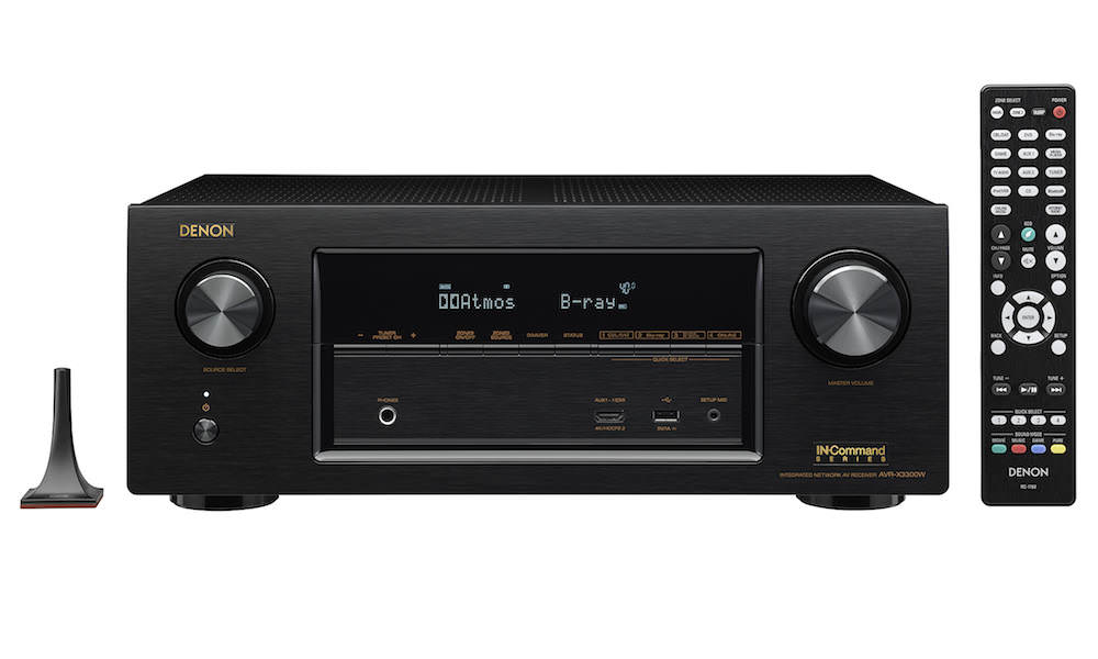 Denon AVR-X3300W A/V Receiver with Remote