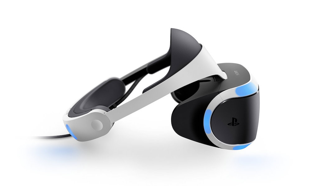 Sony PlayStation VR side view