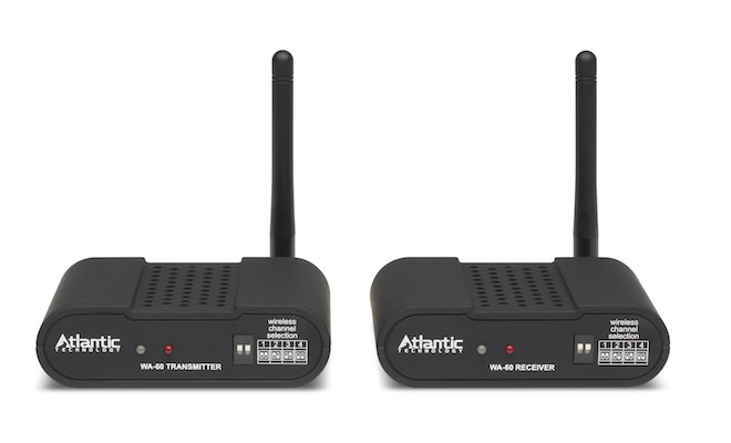 Atlantic Technology WA-60 Wireless Audio System - Front View