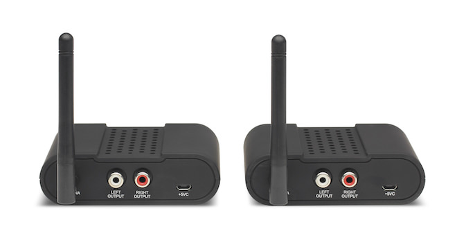 Atlantic Technology WA-60 Wireless Audio System - Rear View
