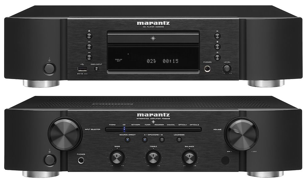 Marantz PM6006 Integrated Amplifier and CD6006 CD Player