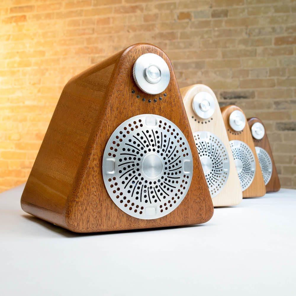 Princeton Audio Site:1 Speaker tonewood color options