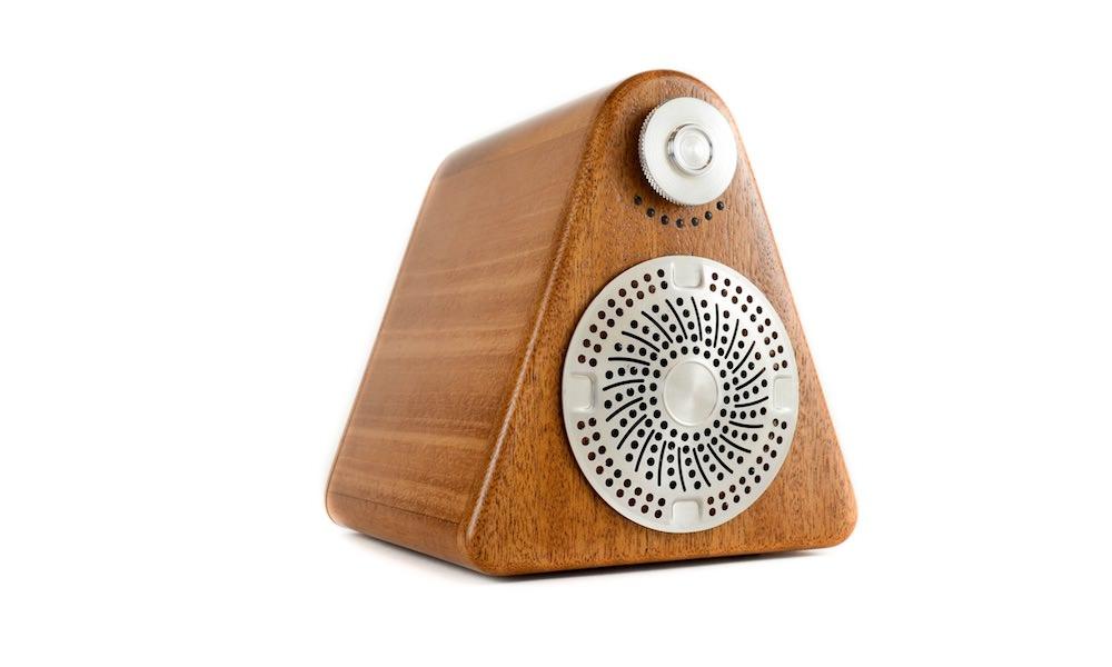 Princeton Audio Site:1 Speaker in mahogany