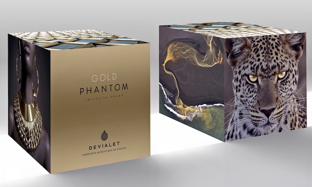 Devialet Gold Phantom Packaging