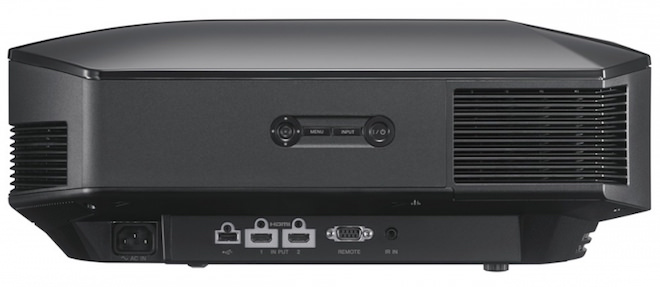 Sony VPL-HW45ES Projector Back