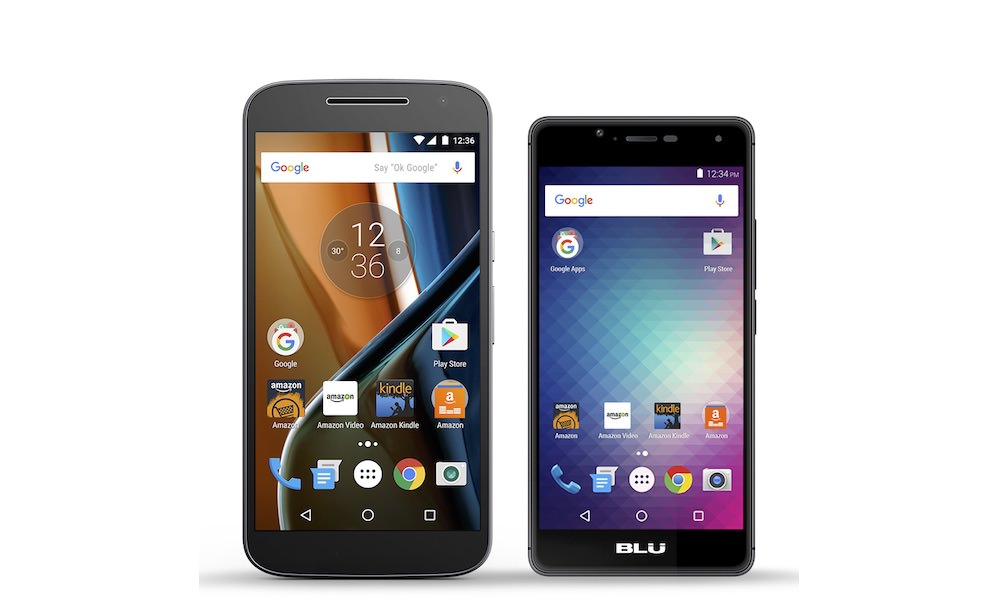 MOTO G and BLU R1 HD Smartphones