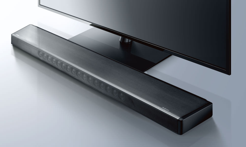 Yamaha YSP-2700 sound bar under TV